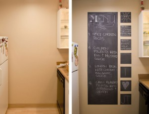 Exhibit E - Before and After photos of my kitchen wall