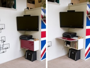 Entertainment Unit - perfect for hiding unsightly clutter!