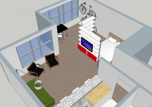 Space-Planning-for-Studio-Apartment
