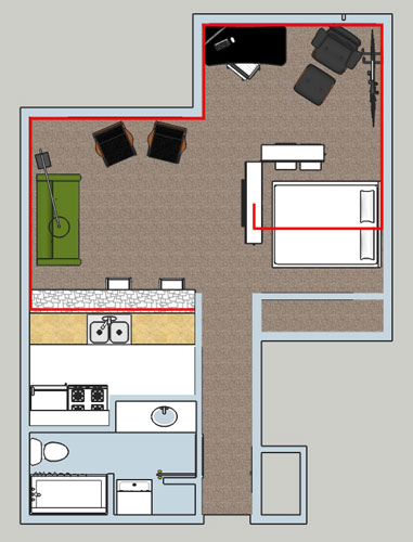 Apartment-Cable-Wiring-Plan